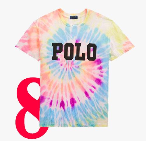 Ralph Lauren tie dye polo t-shirt