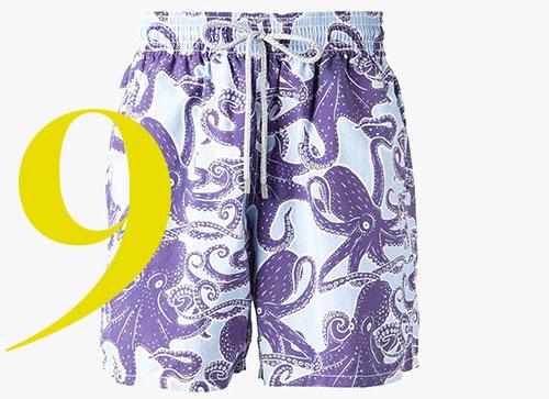 Vilebrequin octopus print swim shorts