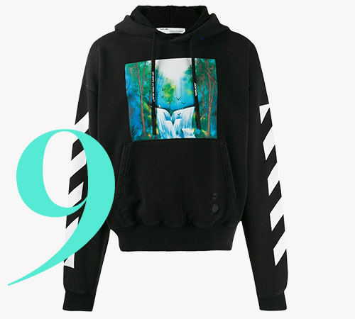 Off-White Diag Waterfall Over hoodie