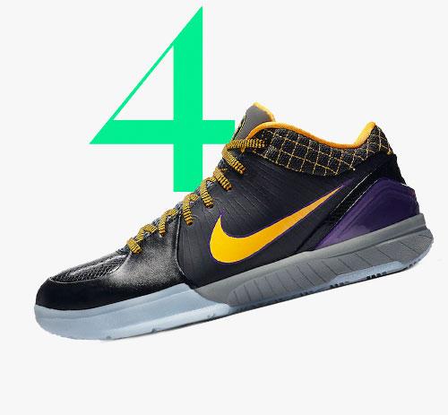 Photo: Nike Kobe 4 Protro Carpe Diem sneakers