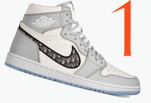 Photo: Dior x Nike Air Jordan 1 High OG sneakers