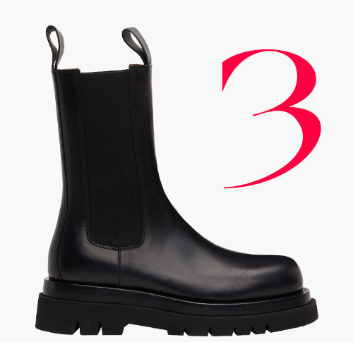 Photo: Bottega Veneta Lug boots