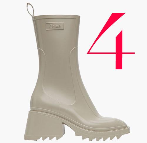 Photo: Chloé Betty rain boots