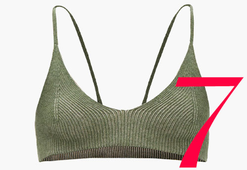 Photo: Jacquemus knitted bralette