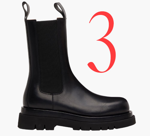 Photo: Bottega Veneta Lug boot
