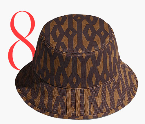 Photo: Adidas x Ivy Park monogram bucket hat