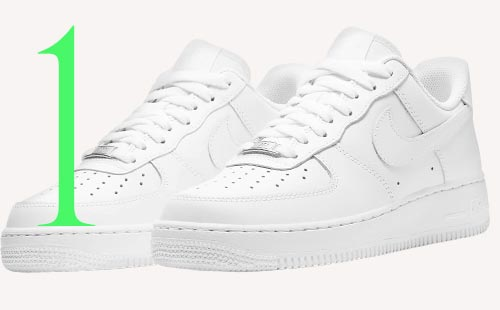 Photo: Nike Air Force One sneakers