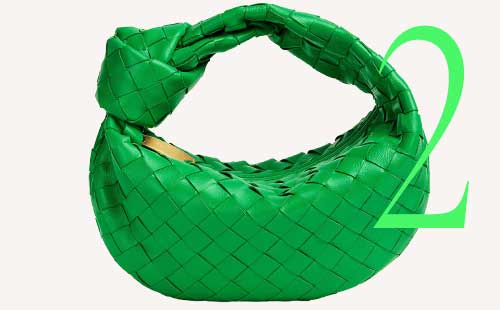 Photo: Bottega Veneta mini Jodie bag