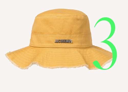 Photo: Jacquemus Le bob Artichaut hat