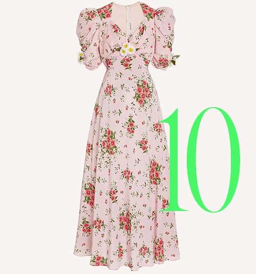 Photo: Rodarte daisy print dress